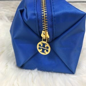 Tory Burch Bags - Tory Burch Blue Makeup Cosmetics Bag